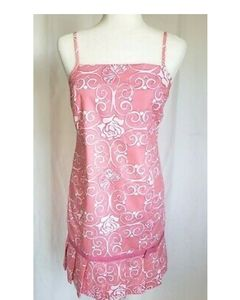Vintage Lilly Pulitzer Pink Pleated Shift Dress Me